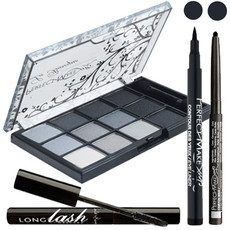 Kit smoky eyes noir - Carlo di Roma