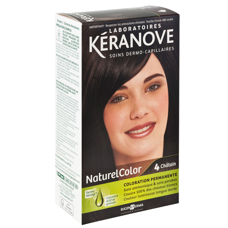 coloration permanente sans ammoniaque chtain - Colorant Pour Cheveux Sans Ammoniaque