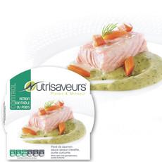 Pavé de saumon et purée curcuma