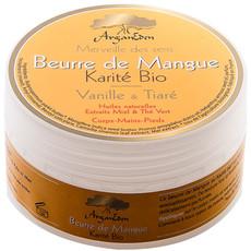 Baume fondant au karité bio et beurre de mangue - Vanille et Tiaré - Corps