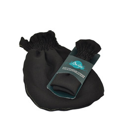 Kassa - Gant de gommage noir