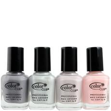 Kit minis « All about colors » – Gris irisé, nacré, crème et rose poudré