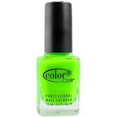 Vernis à ongles parfumé vert néon – The Lime Starts Here