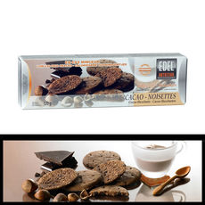 Biscuits cacao-noisettes