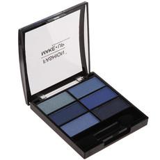 Palette de 6 ombres à paupières - Bleu