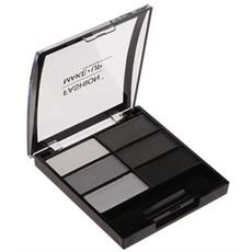 Palette de 6 ombres à paupières - Noir