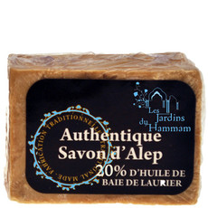 Savon d'Alep 20% d'Huile de Baie de Laurier - Peaux à imperfections