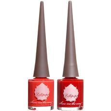 Duo de vernis - Rouge et corail