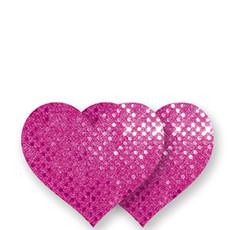 Cubre pezones – Corazón rosa