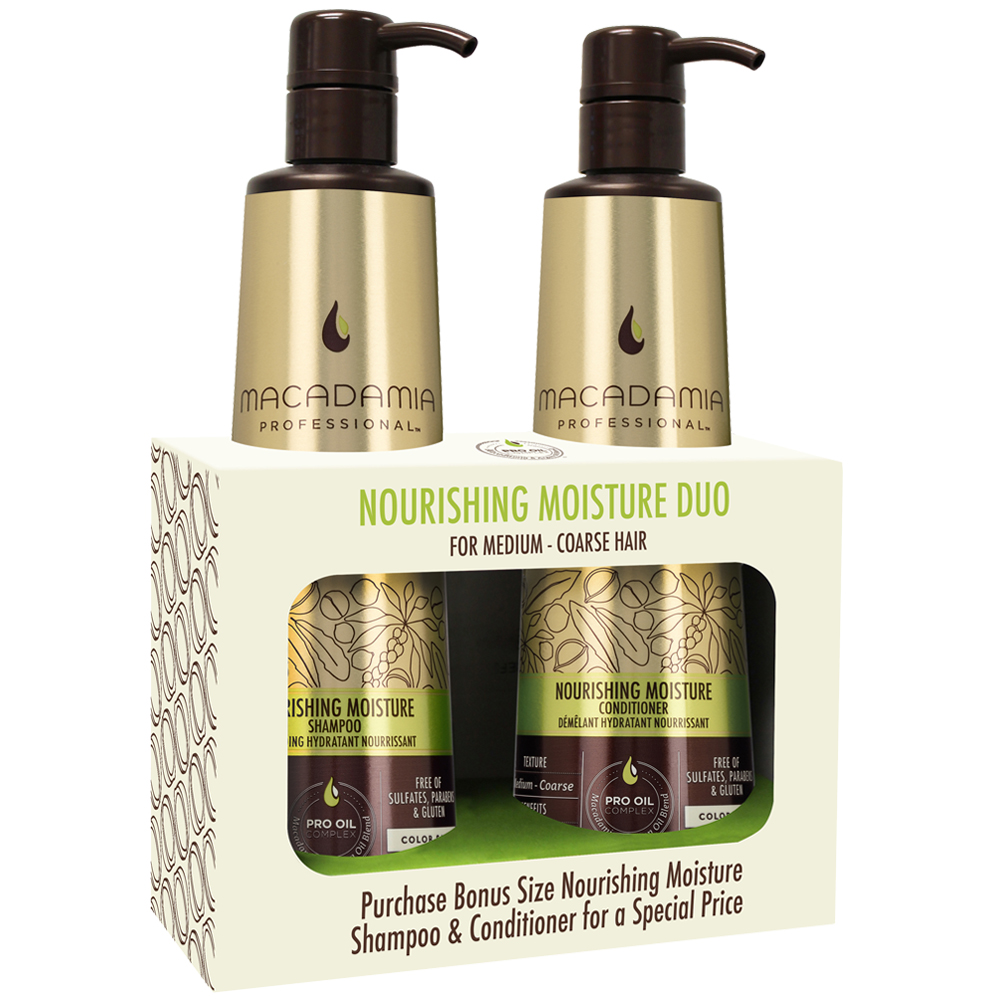 beauteprivee duo shampoing apr s shampoing cheveux normaux pais 2 x 500 ml macadamia. Black Bedroom Furniture Sets. Home Design Ideas