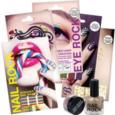 Kit ultra coloré – Ongles, yeux, visage et corps