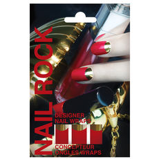 Nail patchs Metallic Moon