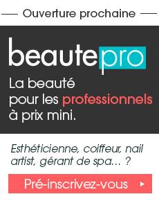 La beauté pour les professionnels