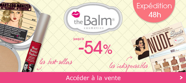 The Balm coup de coeur